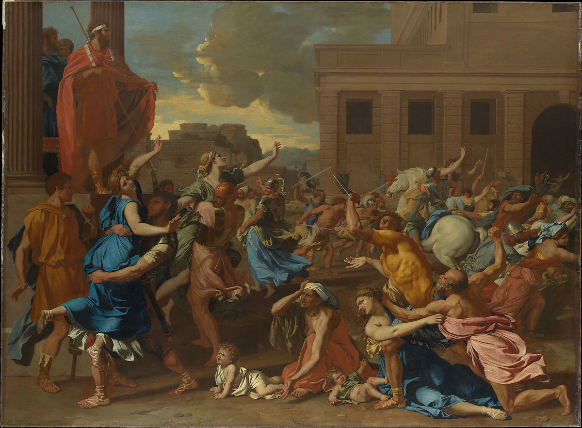 Nicolas Poussin | The Abduction of the Sabine Women | The Met