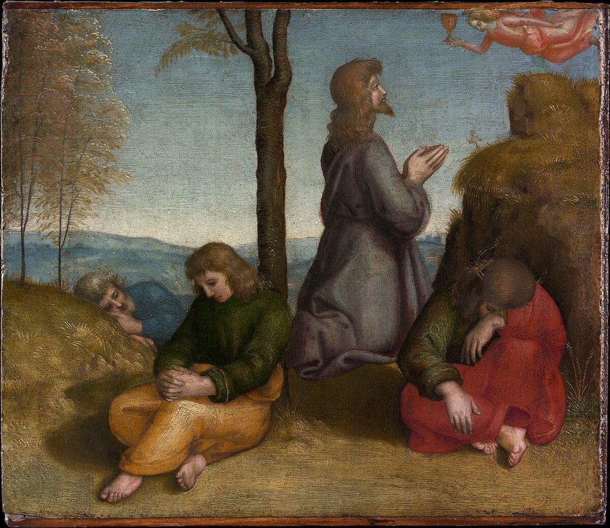 the agony in the garden raphael raffaello sanzio or santi italian - Agony In The Garden