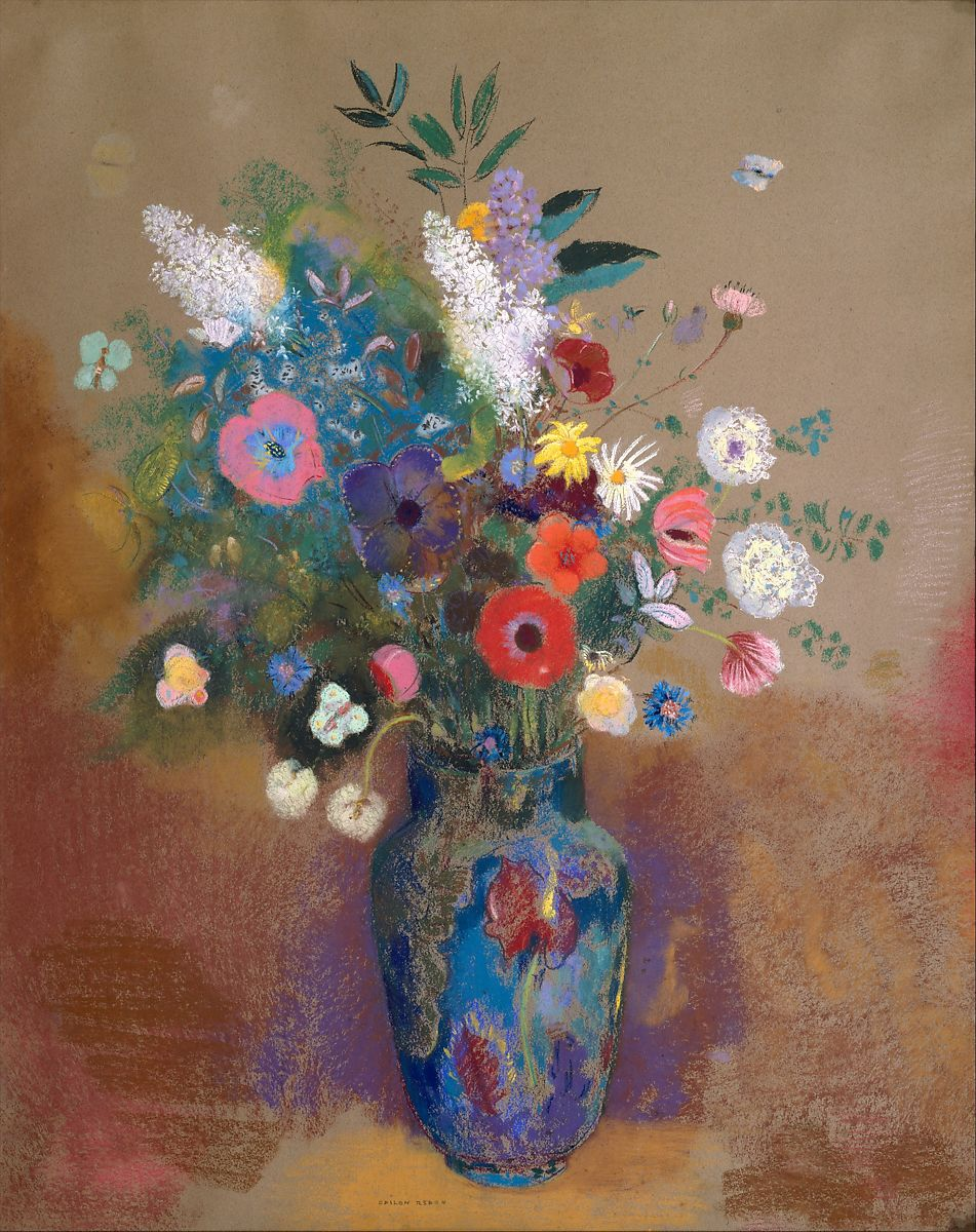 Odilon Redon Bouquet Of Flowers The Met