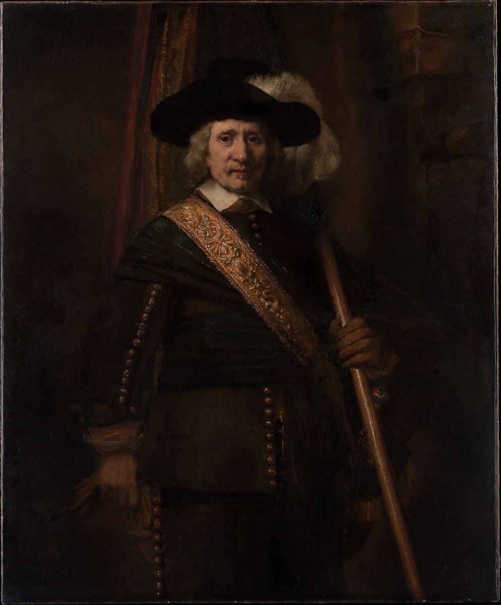 Rembrandt (Rembrandt van Rijn)   The Standard Bearer (Floris Soop, 1604–1657)   The Met