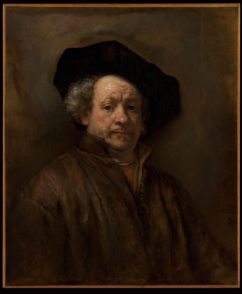 Rembrandt (Rembrandt van Rijn) | Self-Portrait | The Met