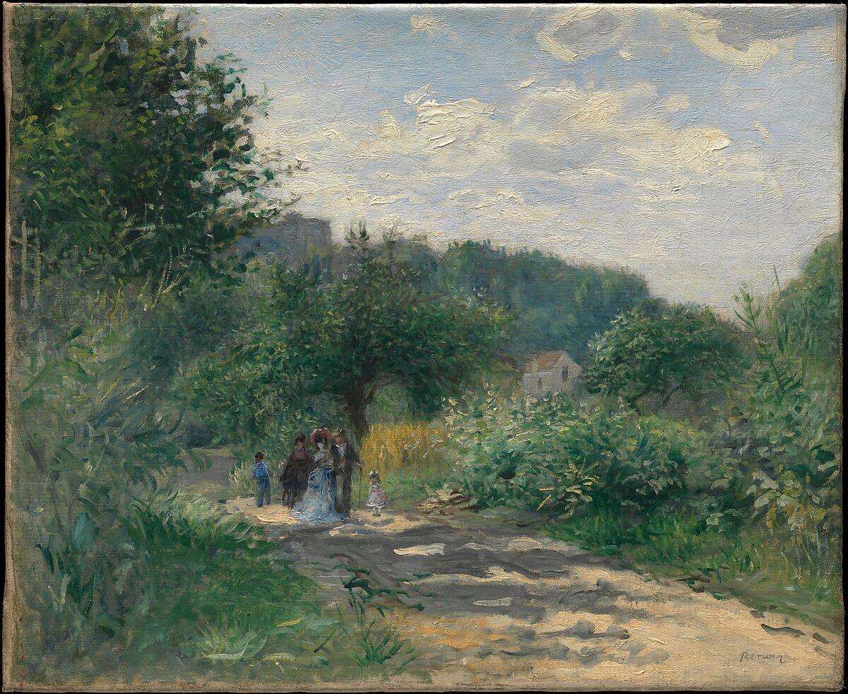Auguste Renoir | A Road in Louveciennes | The Met