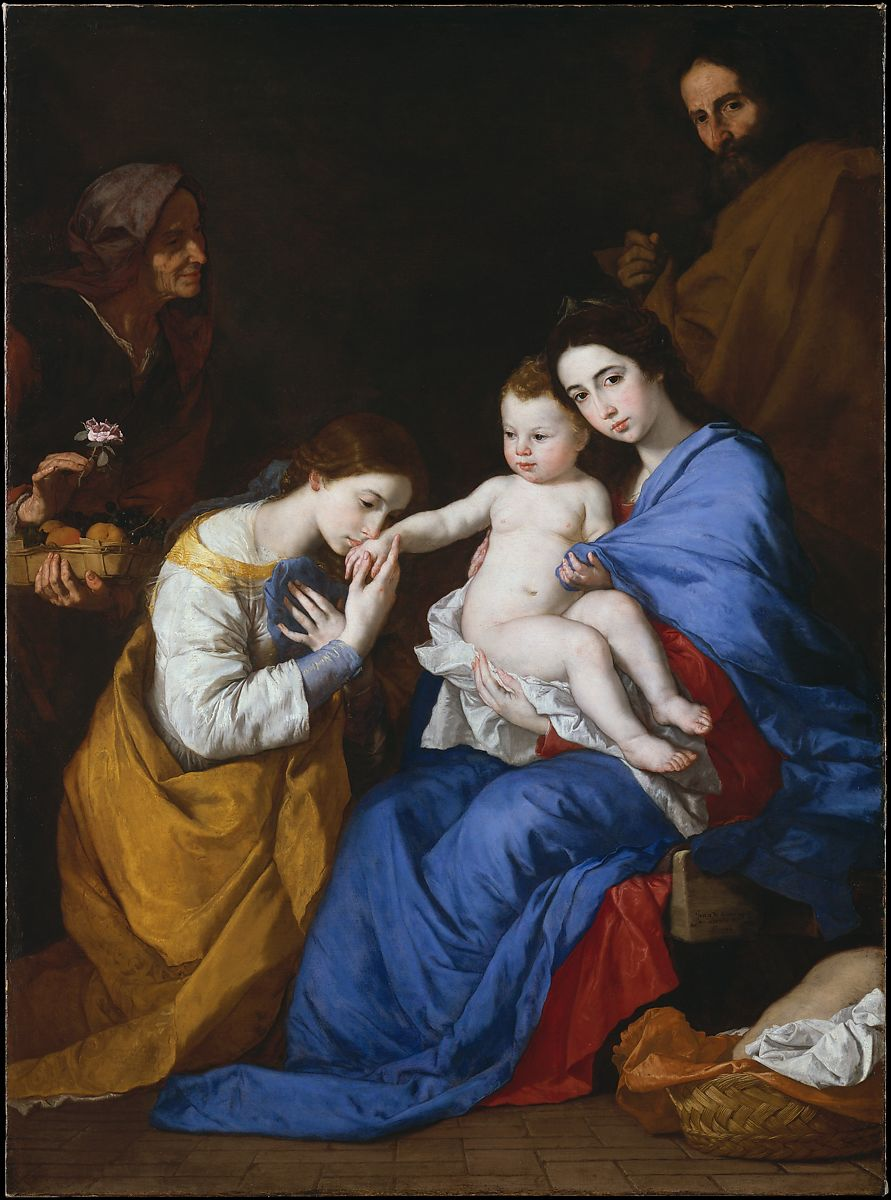 Jusepe de Ribera (called Lo Spagnoletto) | The Holy Family with ...