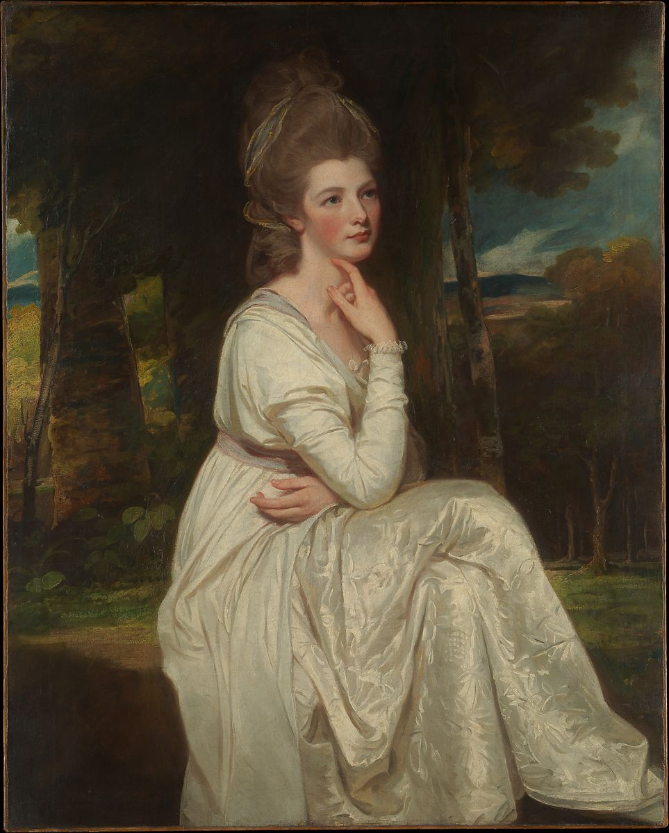 George Romney Lady Elizabeth Stanley 1753 1797 Countess Of Derby The Met