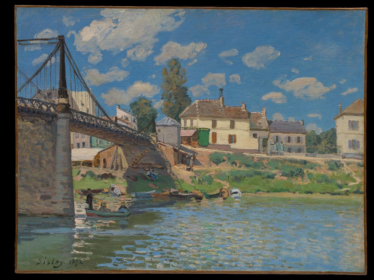 Paris Materiaux Villeneuve La Garenne alfred sisley | the bridge at villeneuve-la-garenne | the met