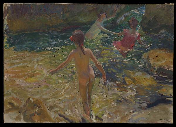 Joaquín Sorolla y Bastida | The Bath, Jávea | The Met