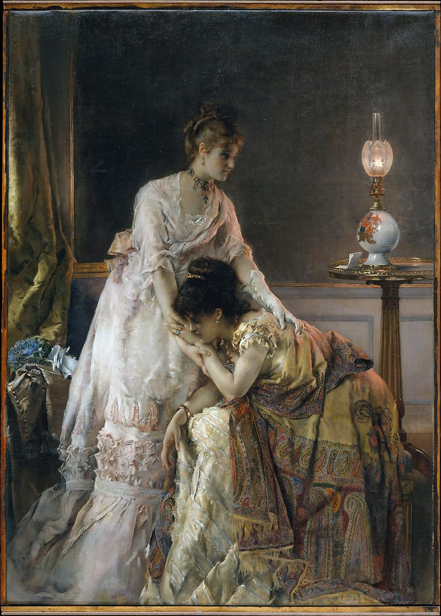 Alfred Stevens | After the Ball | The Met