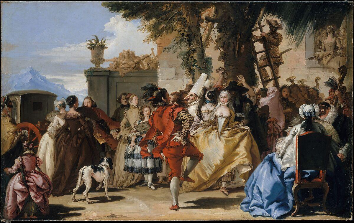 Giovanni Domenico Tiepolo A Dance In The Country The Metropolitan Museum Of Art
