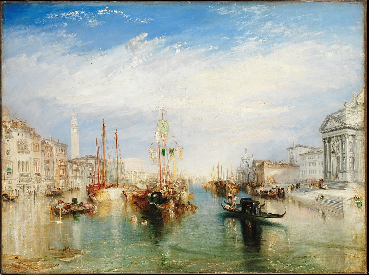 Joseph Mallord William Turner | Venice, from the Porch of Madonna della Salute | The Met