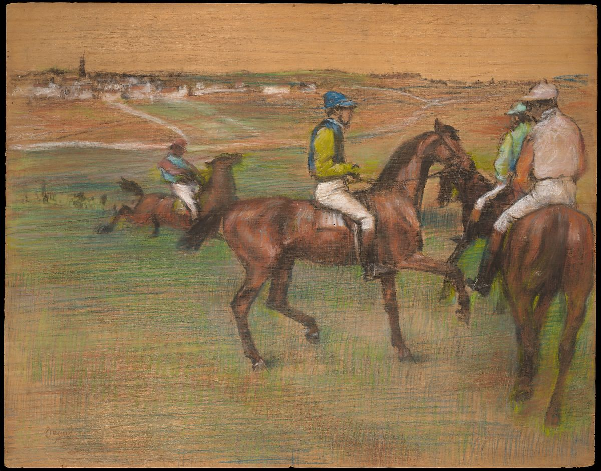 Edgar Degas Race Horses The Met