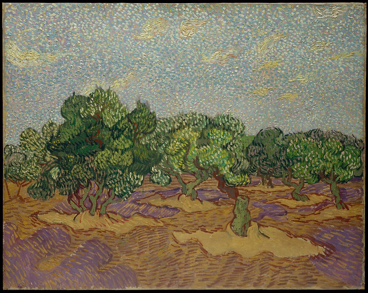 Vincent van Gogh | Olive Trees | The Met