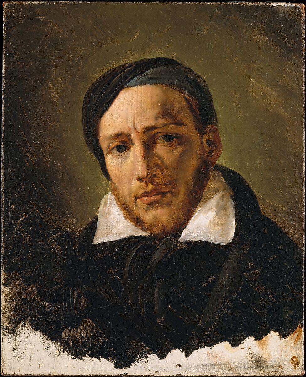 Jean-Louis-André-ThéodoreGericault(1791–1824)、Horace Vernet(フランス、パリ1789–1863パリ)、キャンバスに油彩