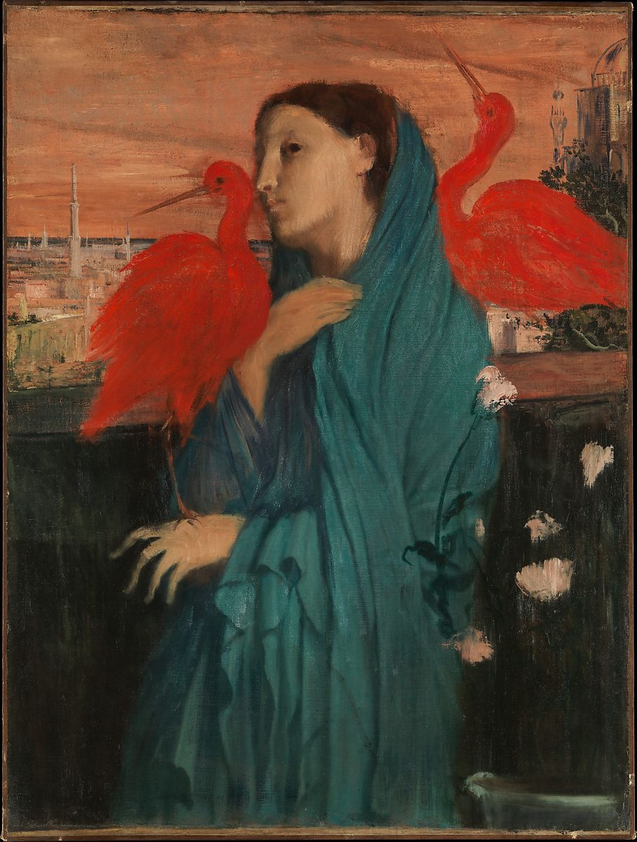 Edgar Degas | Young Woman with Ibis | The Met