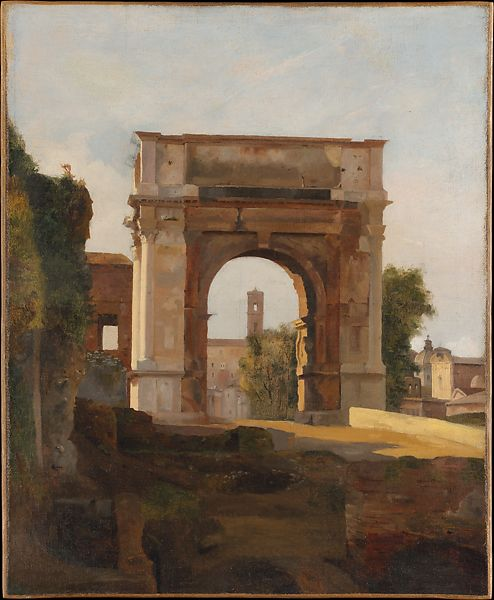 French Painter | The Arch of Titus and the Forum, Rome | The Met