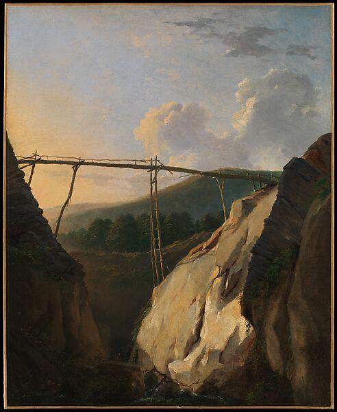 Eugène-Joseph Verboeckhoven | Mountainous Landscape with