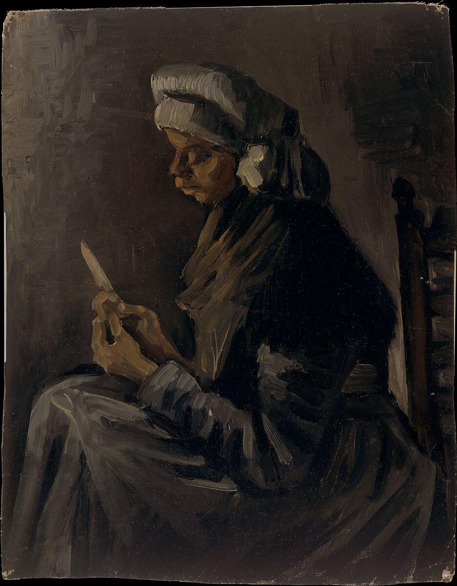 Bild einer Bäuerin