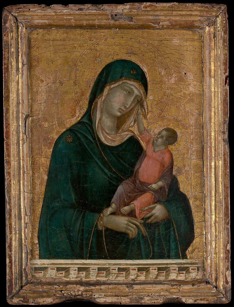 Duccio di Buoninsegna | Madonna and Child | The Met