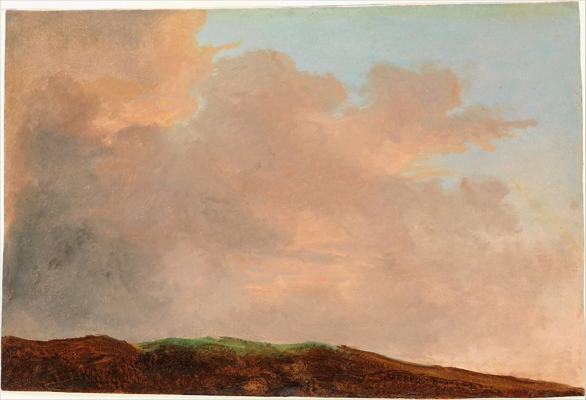 Pierre Henri de Valenciennes or Circle | Sky at Dusk | The Met
