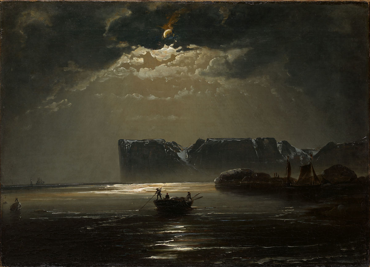 Peder Balke | The North Cape by Moonlight | The Met