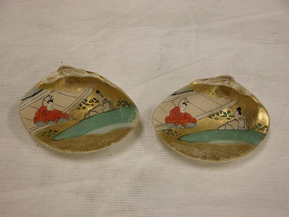 Shell Game (Kaiawase) Set | Japan | Edo period (1615–1868) | The Met