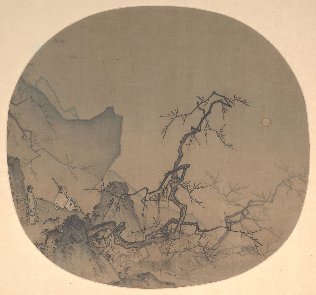 Viewing Plum Blossoms By Moonlight Ma Yuan 19864932 Work Of Moonshine Diagram Related Keywords Suggestions