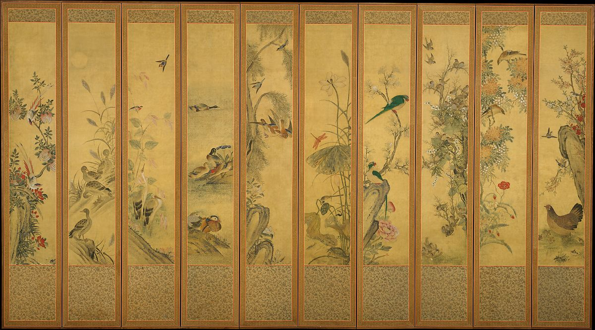 Unidentified Artist Birds And Flowers Korea Joseon