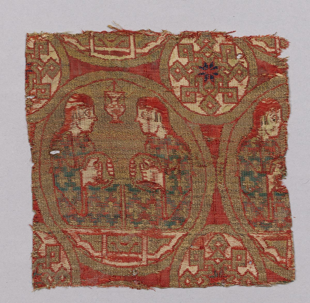 Textile with Musicians | The Met