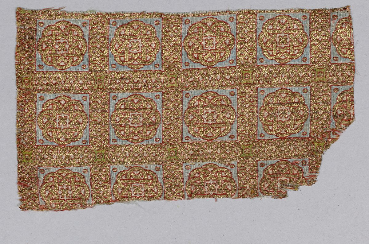 Textile Fragment from the Dalmatic of San Valerius | The Met