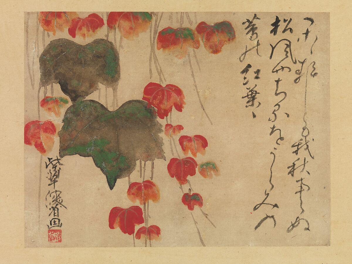 Ogata Kenzan | Autumn Ivy | Japan | Edo period (1615–1868) | The Met