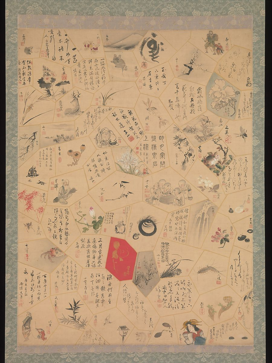 Tani Bunchō | Miscellaneous Paintings and Calligraphy for the Third Year of the Bunsei Era | Japan | Edo period (1615–1868) | The Met