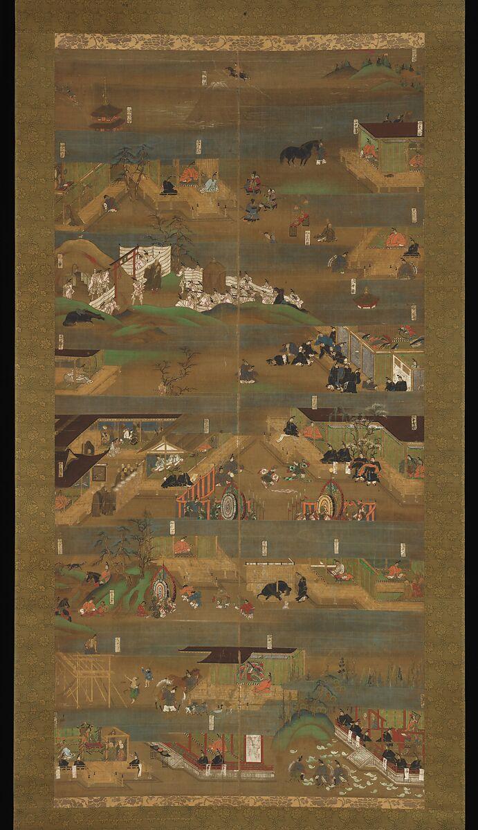 Illustrated Biography of Prince Shōtoku | Japan | Kamakura period (1185–1333) | The Met