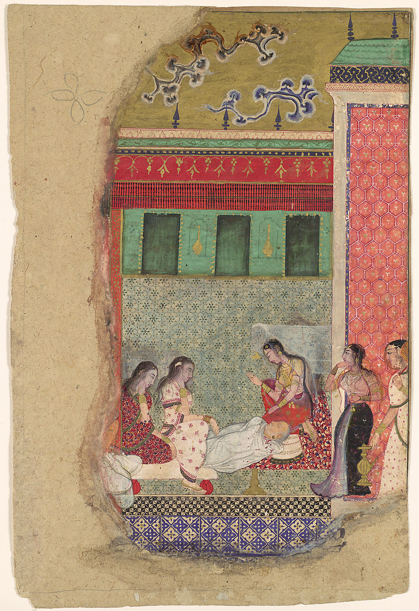 The Death of King Dasharatha, the Father of Rama