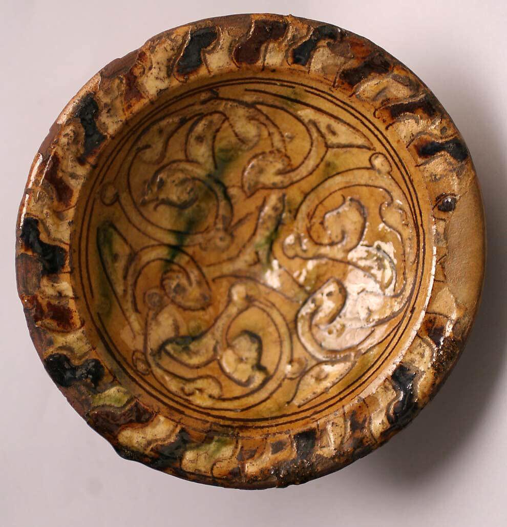 Sgraffito Ware Bowl The Metropolitan Museum Of Art