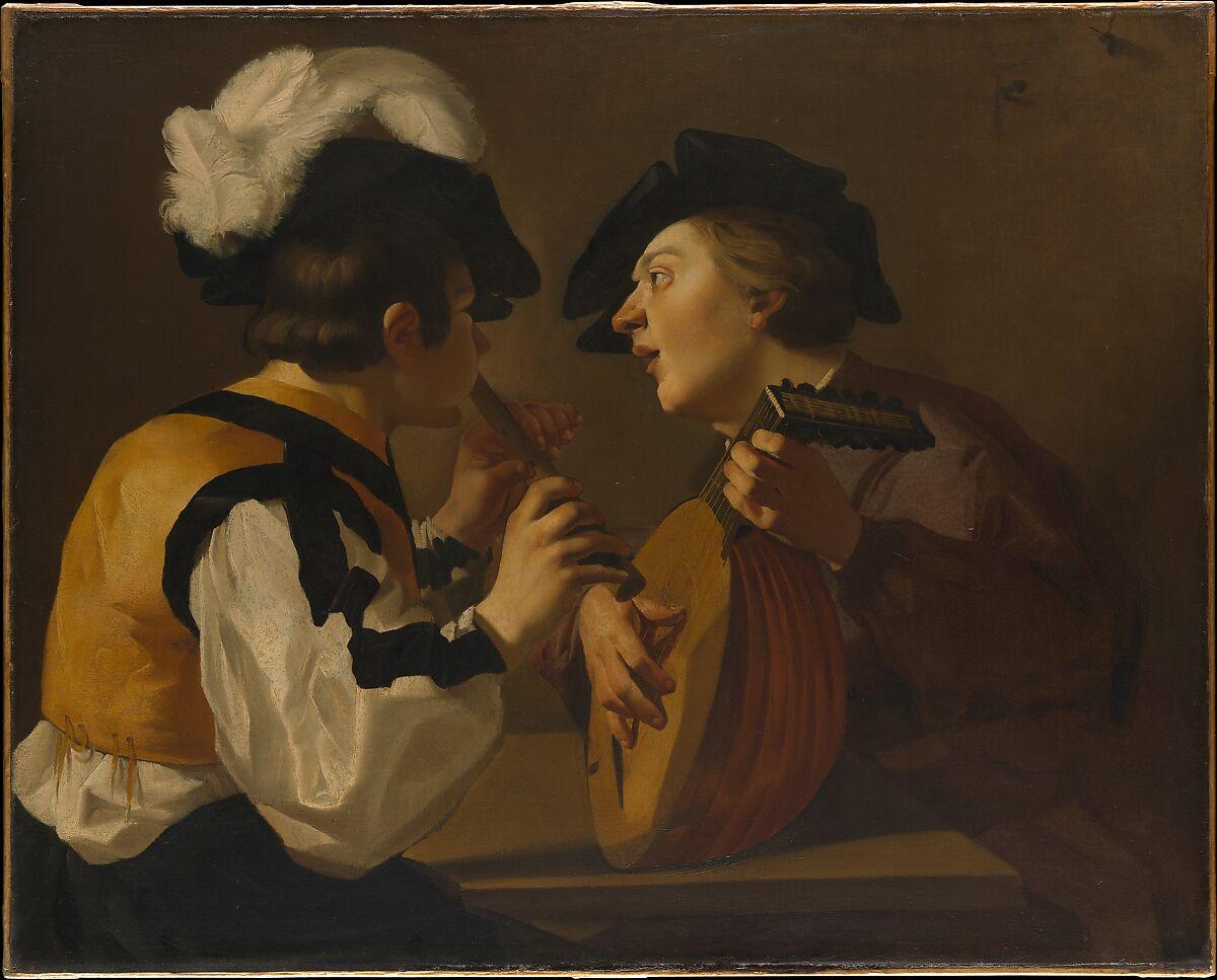 Dutch (Utrecht Caravaggist) Painter, 17th century | Two