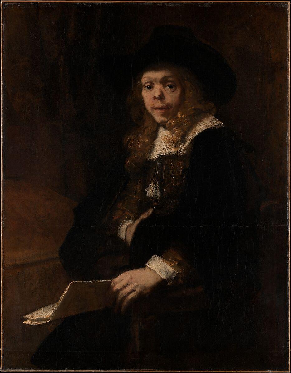 Rembrandt Rembrandt Van Rijn Portrait Of Gerard De Lairesse