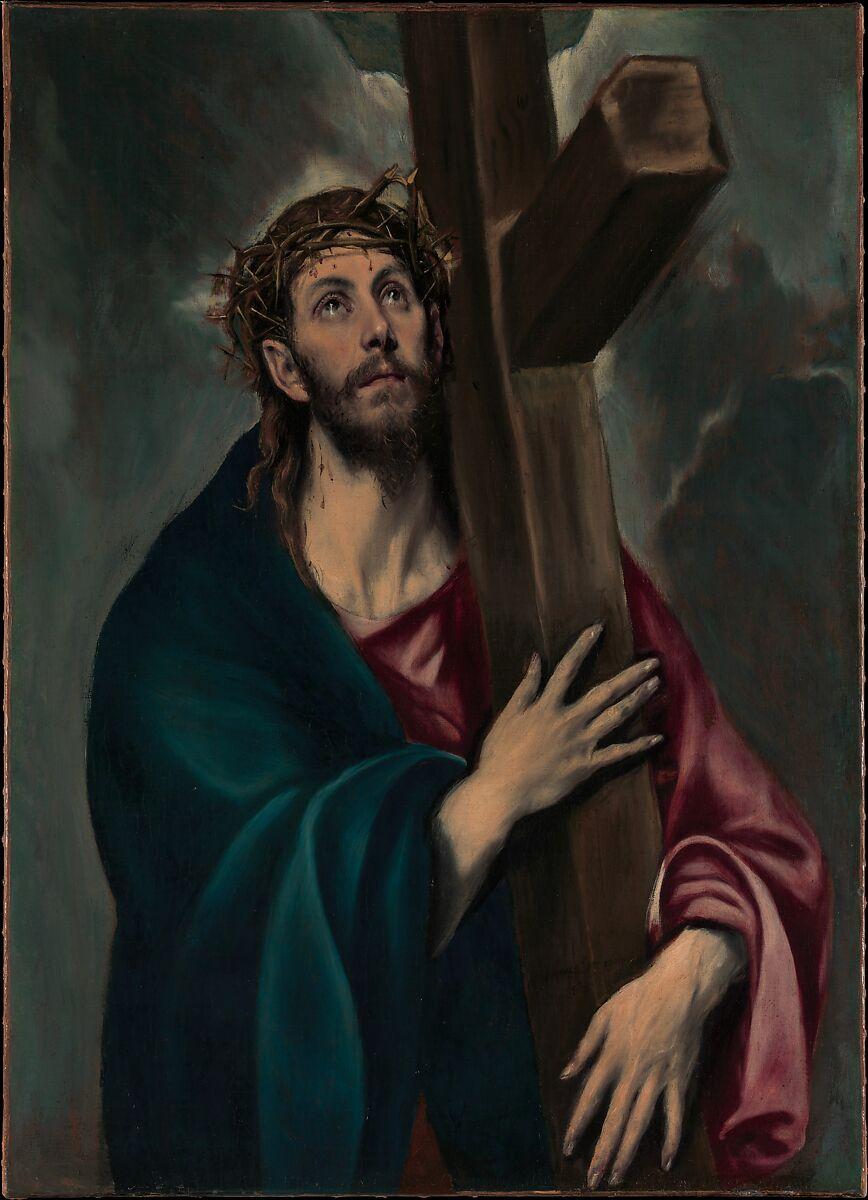 el greco domenikos theotokopoulos christ carrying the cross