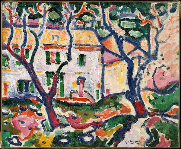 Georges Braque | House behind Trees | The Met