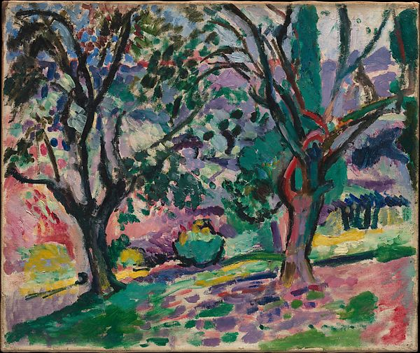 Henri Matisse | Olive Trees at Collioure | The Met