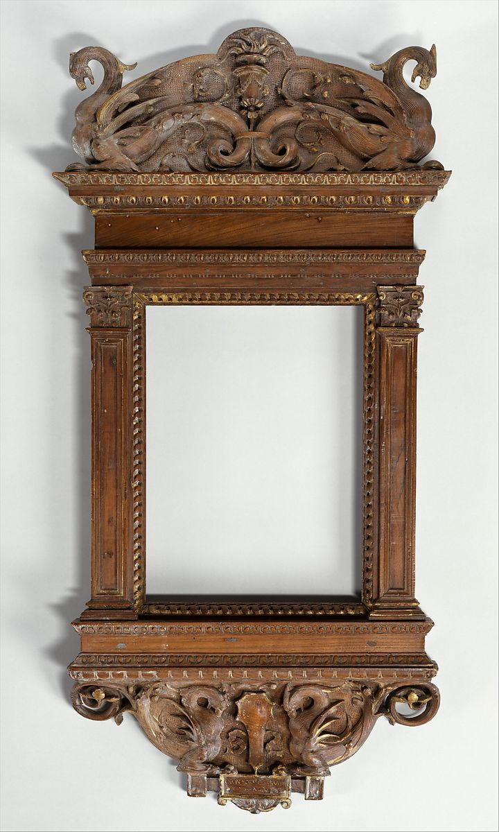 Possibly Del Tasso Tabernacle Frame Italian The Met