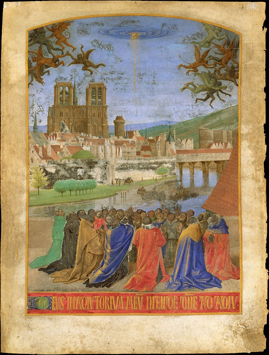 Jean Fouquet | The Right Hand of God Protecting the Faithful against the  Demons | The Metropolitan Museum of Art