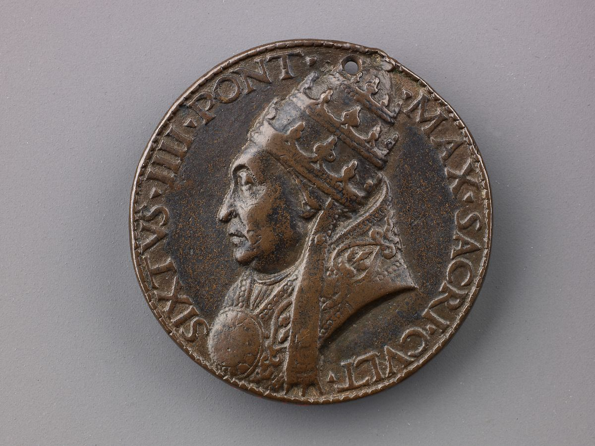 Lysippus the Younger | Medal: Sixtus IV | The Met