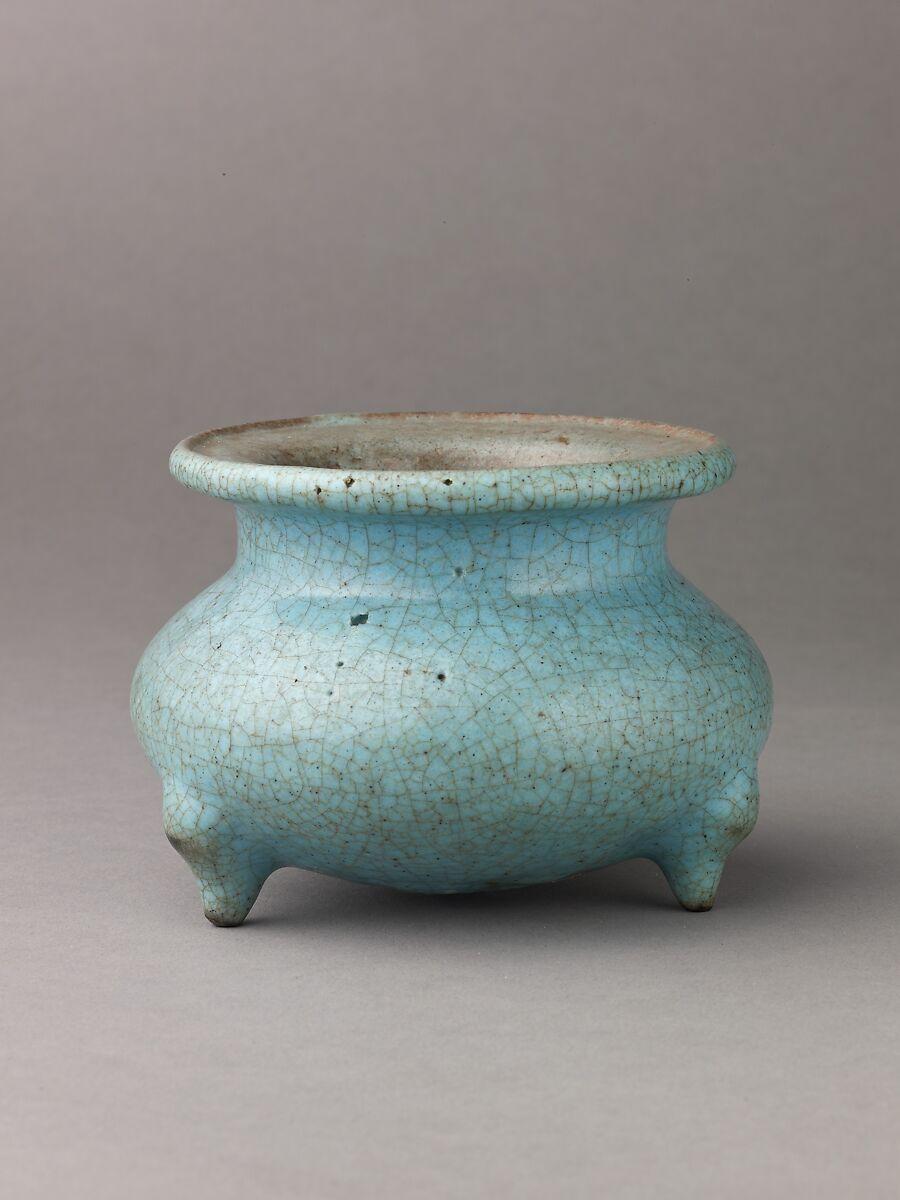 Stoneware Incense Burner