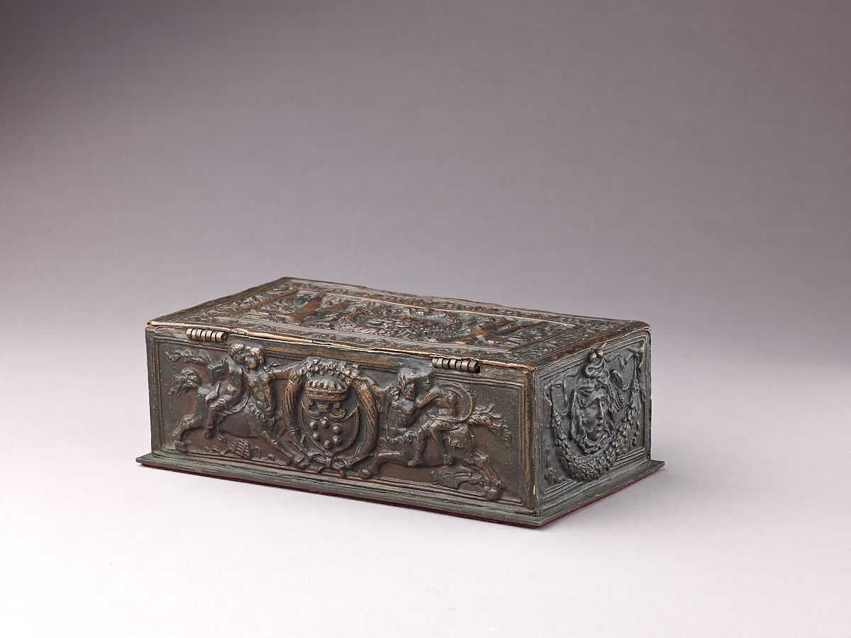 Italian (Manifattura di Signa, Florence?)   Writing Box ...