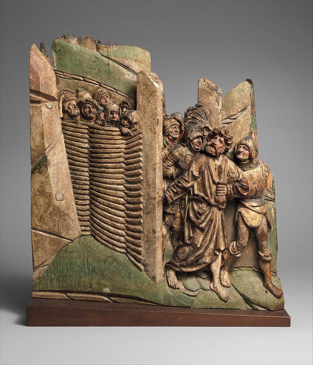Judas Entering the Garden of Gethsemane to Betray Christ | German or ...