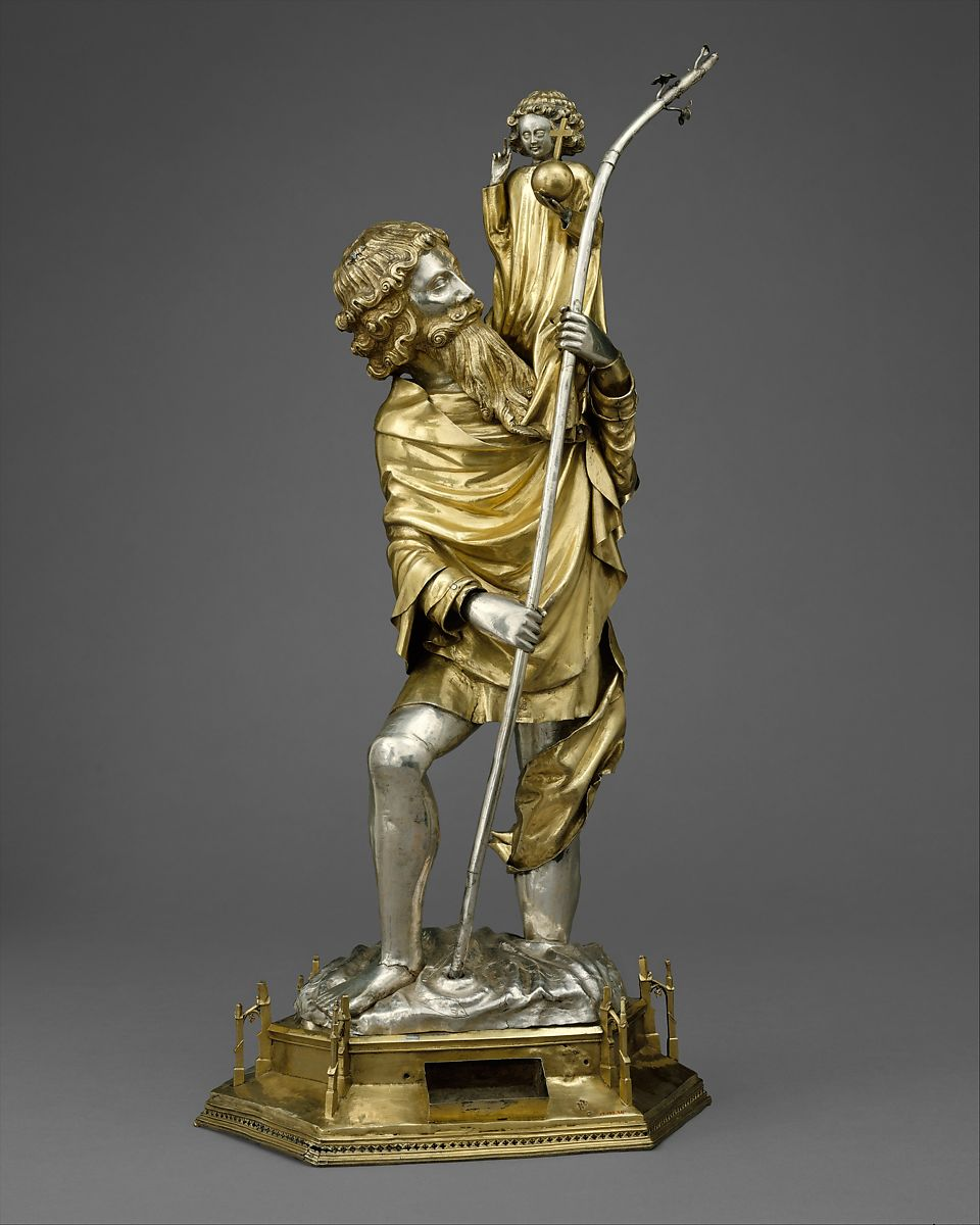 Reliquary Statuette of Saint Christopher | French | The Met