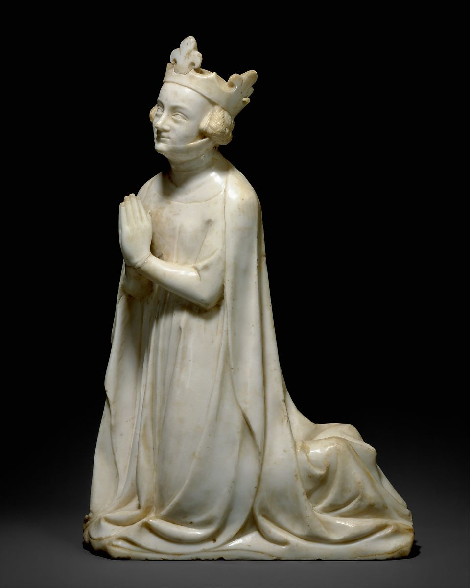 Queen From A Group Of Donor Figures Including A King Queen And Prince French The Met