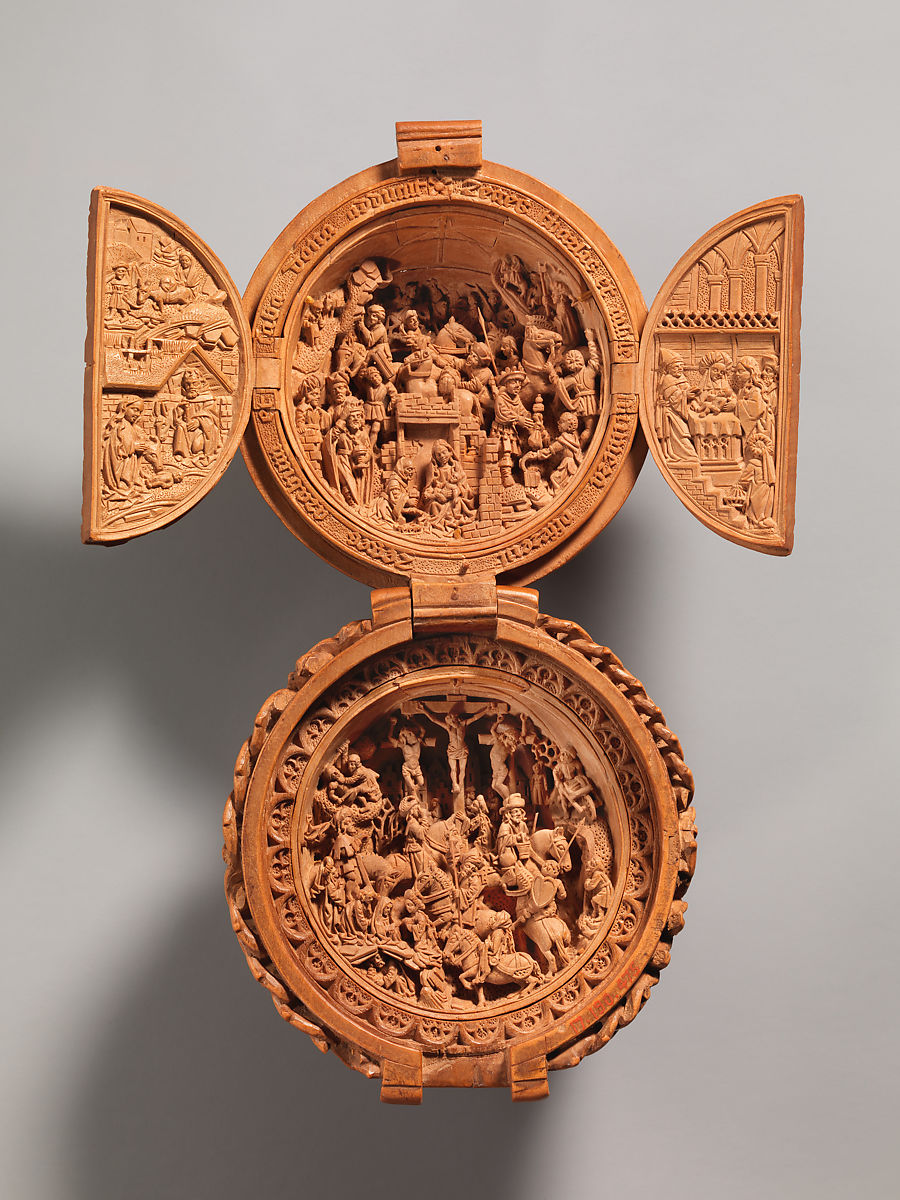 Prayer Bead with the Adoration of the Magi and the Crucifixion | Netherlandish | The Met