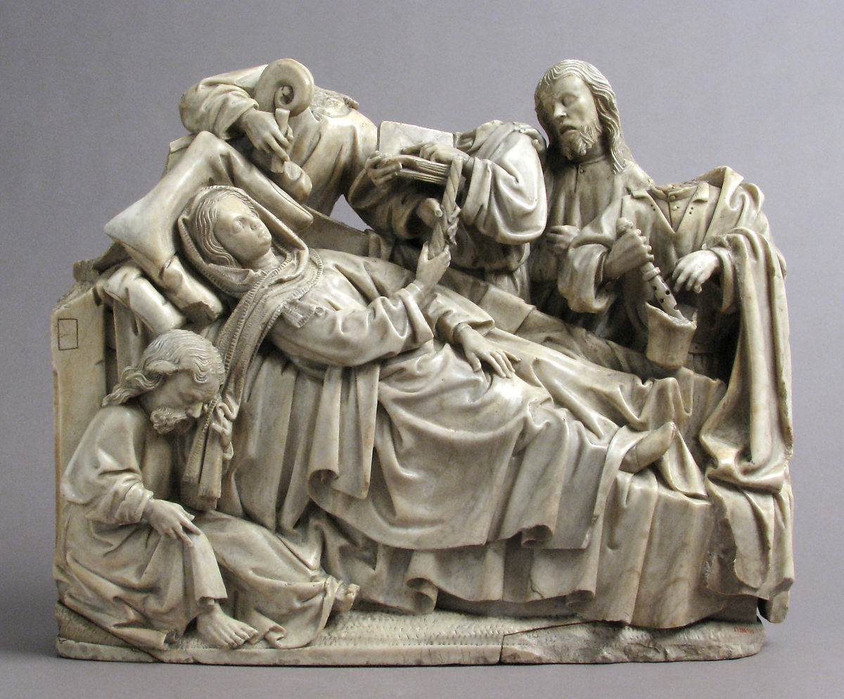 Death of the Virgin   North French   The Met