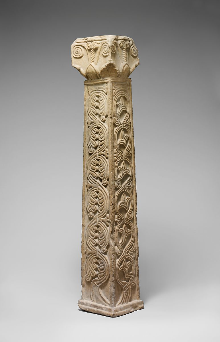 pillar with capital south italian the met