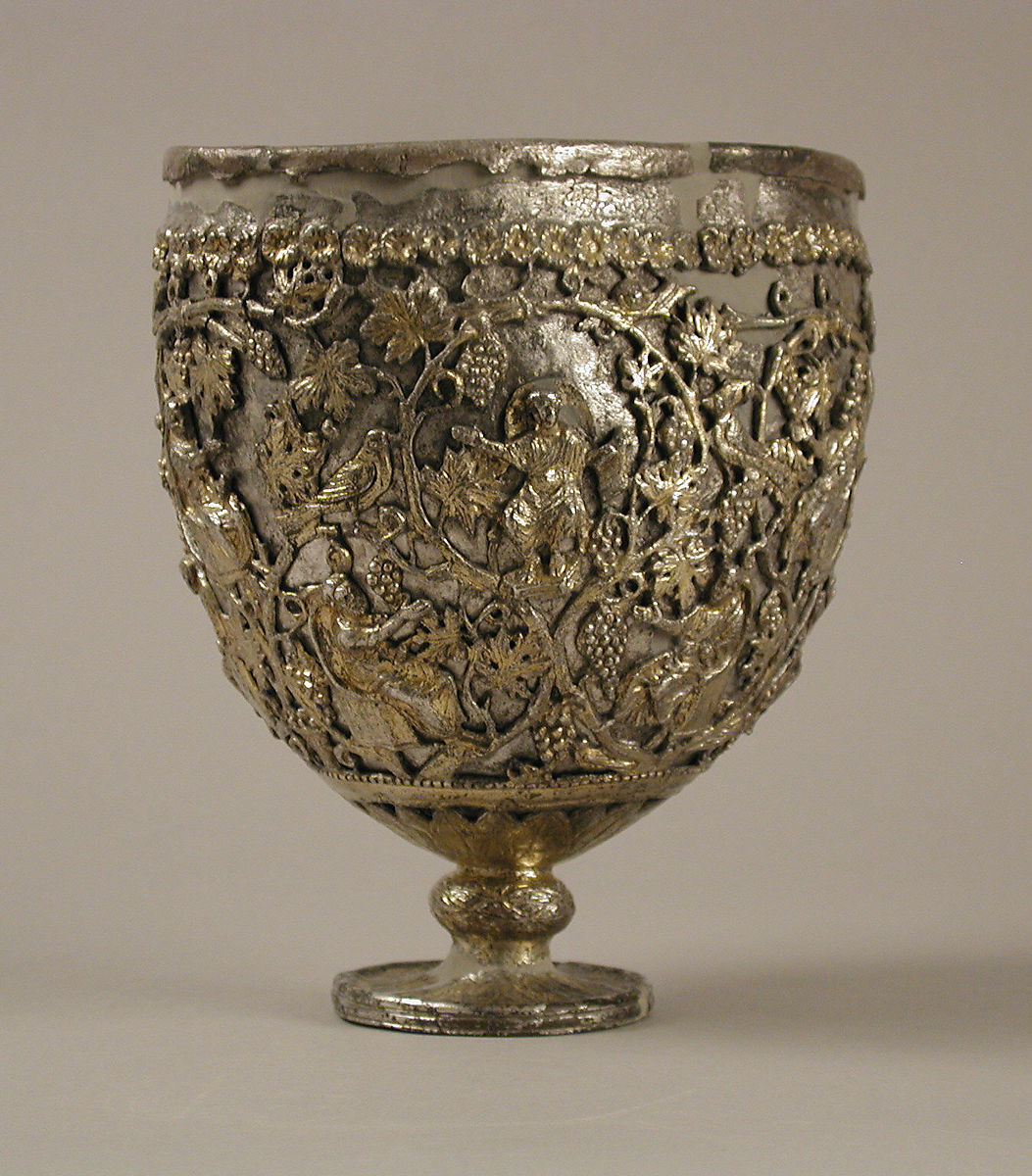 "The Antioch ""Chalice"", Silver, silver-gilt, Byzantine"